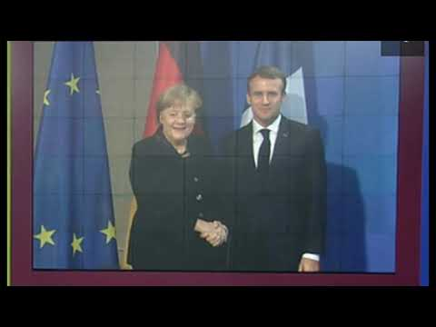 France and Germany Pledge To Defend Each Other In New Treaty, Speak Of EU Army
