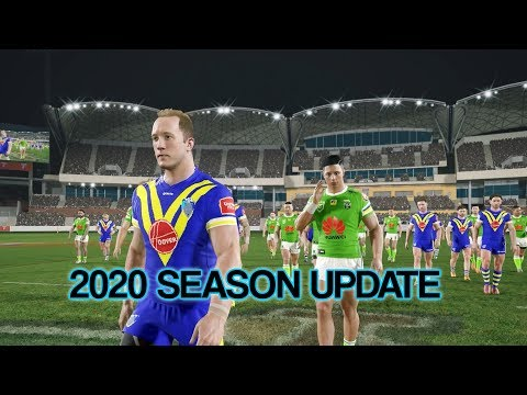 Rugby League Live 4 - 2020 Season UPDATE