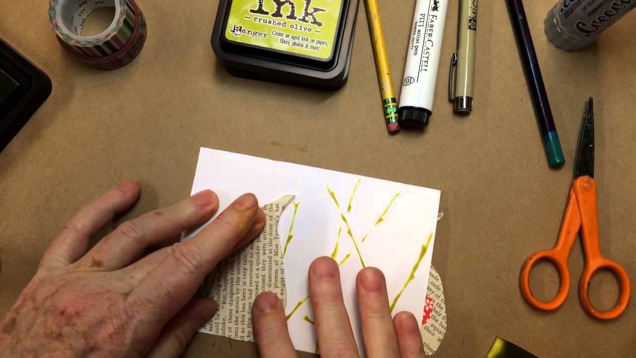 Paisley Bird Greeting Card Youtube