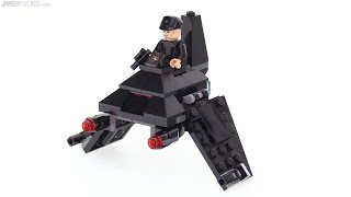 LEGO Star Wars Microfighters Krennic's Shuttle review! 75163