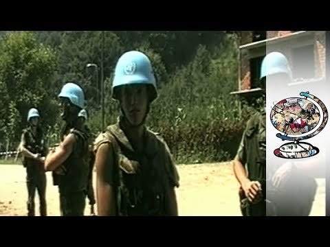 Srebrenica And The Trauma Of The Blue Berets