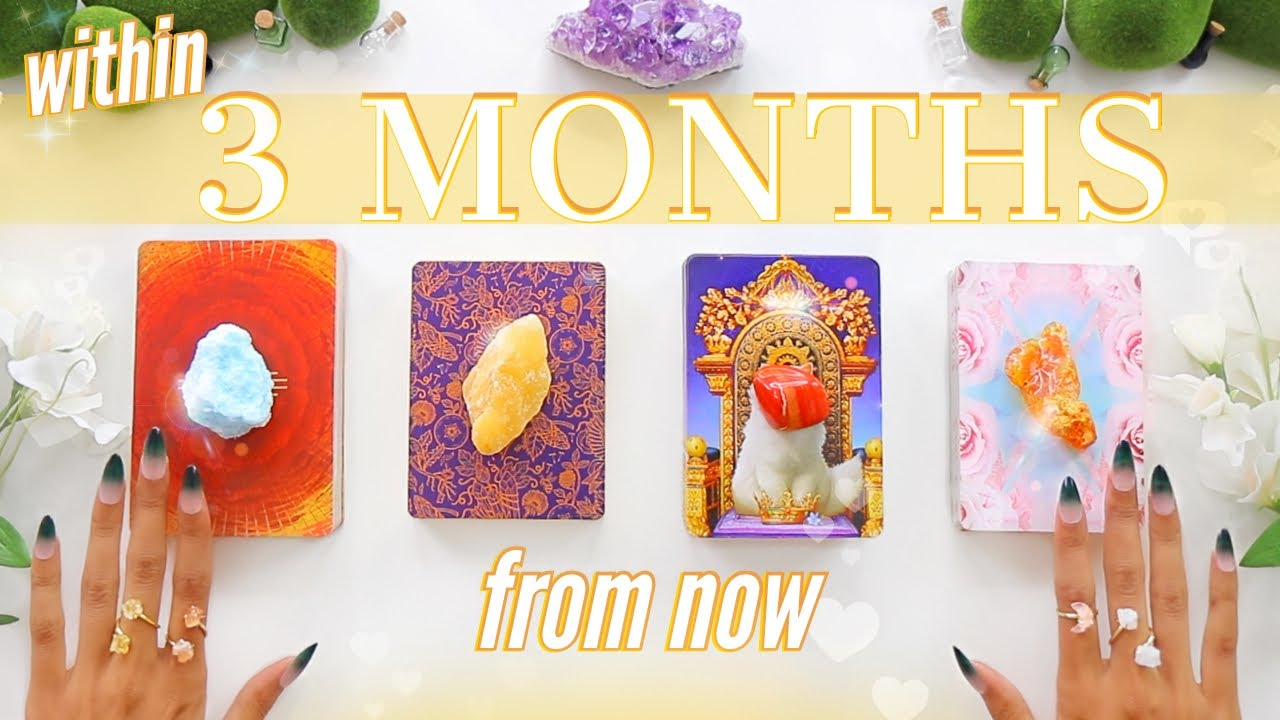 🔮(pick twice)🔮3 MONTHS From Now: Love, Career, Family & Money💰📬💡✨(Pick A Card)✨Tarot Reading✨