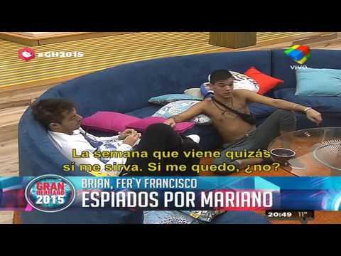 Mariano se disfrazó de espía y le salió mal