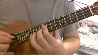 #069 Maroon 5 - Payphone:(Demo)(Ukulele Tutorial) 肥貓烏克麗麗教學