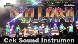 Video Cek Sound Instrumen New Pallapa Live Rembang Pasuruan 2016 download MP3, 3GP, MP4, WEBM, AVI, FLV Maret 2018