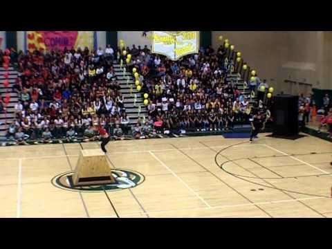 Free Running Performance - Murrieta Mesa High School Pep Rally