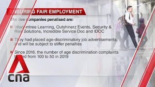 5 employers penalised for age-related discriminatory hiring