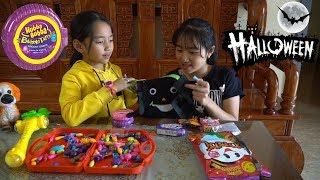 Mẹ Ghẻ Con Chồng Phần 24 - Món Quà Kẹo Hubba Bubba Halloween Sớm Của Mẹ - MN Toys Family Vlogs