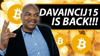 DavinciJ15 IS BACK!! MY THOUGHTS ON THE YOUTUBE BITCOIN CHANNEL PURGE!
