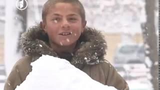 برف باری کابل و شور و شوق کابلیان