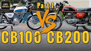 Rahasia CB100 VS CB200 dari Dealer Motor Klasik | OTOFREAK REVIEW