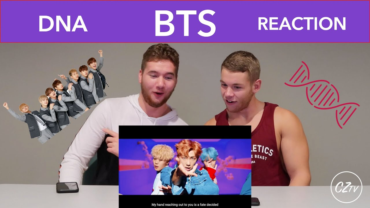BTS 'DNA' OFFICIAL M/V | REACTION