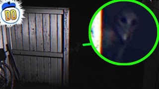 8 Creepy Things Caught On Security Camera