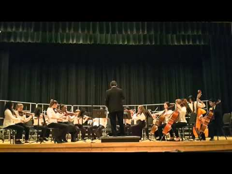 Hungary Creek Middle School Strings Orchestra March 2016