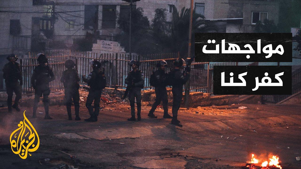 رئيس المجلس البلدي لكفر كنا: الاحتلال استخدم الذخيرة الحية  - نشر قبل 10 ساعة