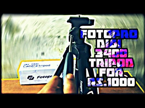 Fotopro digi 3400 tripod for 1000 rs it is any good ?