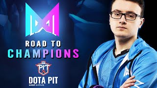 NIGMA - ROAD TO CHAMPIONS DOTA PIT 2020 | Miracle New Captain Dota 2 Divine