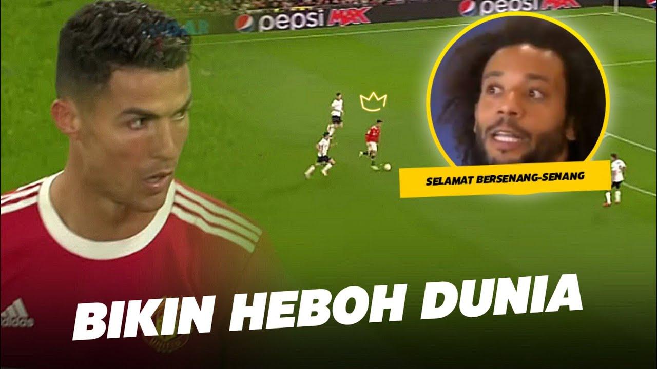 Download Marcelo Ikut Teriak, Kangen Ni !!Lihatlah Reaksi Dunia Melihat Ronaldo Menjadi Penentu Kemenangan