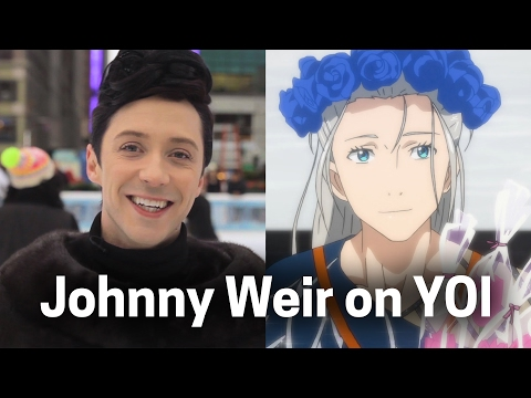 Yuri!!! On ICE Reaction from Olympic Skater Johnny Weir