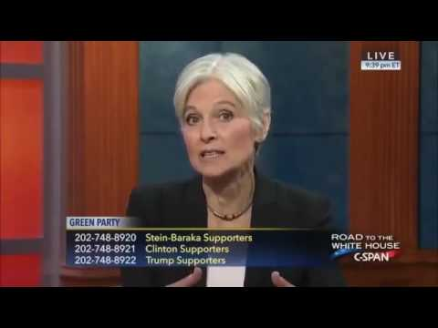 """Jill Stein  """"Hillary Clinton could start nuclear war with Russia"""""""