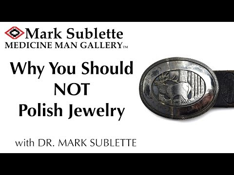 When NOT To Polish Your Native American Jewelry