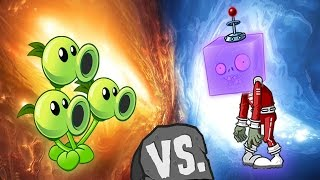 Plants vs Zombies 2 - Tripitidora vs Zombi Caraholograma