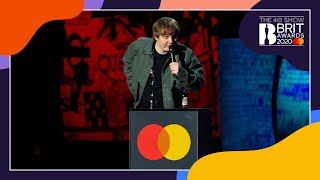 Lewis Capaldi wins Best New Artist | The BRIT Awards 2020