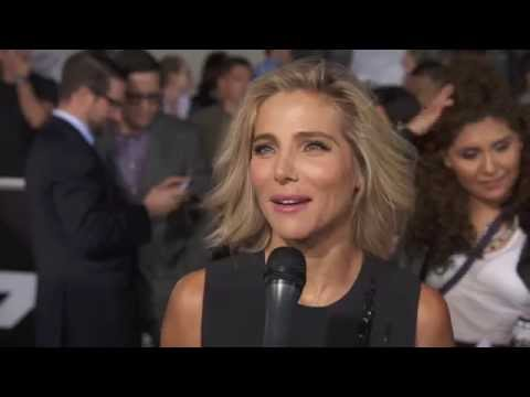 Elsa Pataky Furious 7 Premiere Interview - Fast & Furious 7