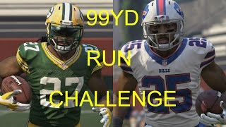 WHO CAN RUN A 99YD TOUCHDOWN FIRST?!? EDDIE LACY VS LESEAN MCCOY!! MADDEN 16 CHALLENGE #8