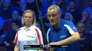Martin Gould Vs Astley •R2• |Coral shoot out 2018|