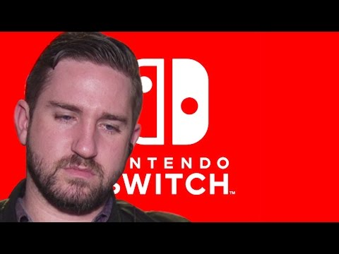 Tim Gettys Talks Over the Nintendo Switch Presentation (Live Reactions!)