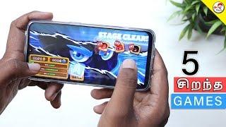 Top 5 Sirantha Games | Nov 2018 | Tamil Tech