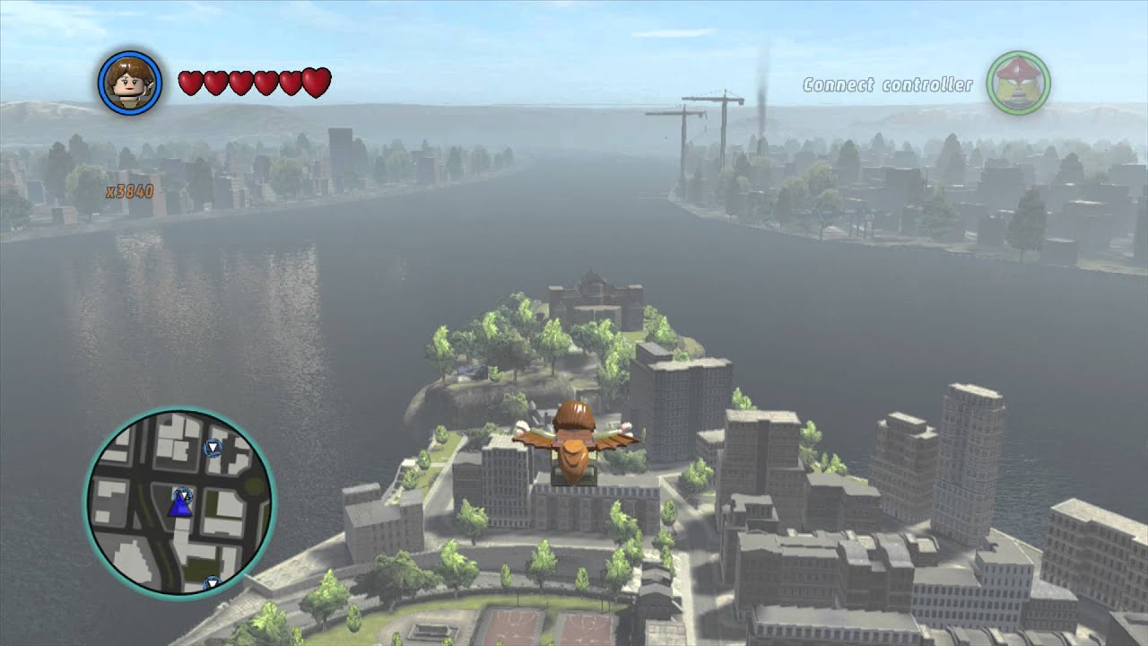 LEGO Marvel Superheroes - Squirrel Girl Glides Across the Map - YouTube