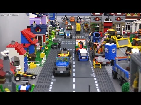 Download Youtube: OLD Video! Updates on my channel! Second LEGO city layout