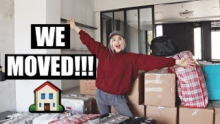 We Finally Moved Into Our New Apartment!!