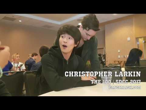 'The 100' SDCC 2017 : Christopher Larkin