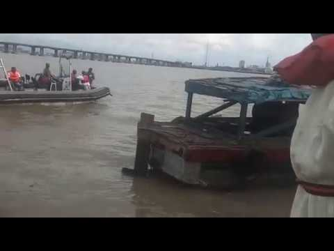 Killer wrecked boat pulled out of Lagos waters