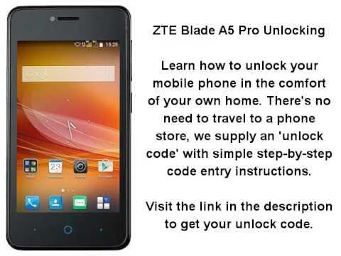 Zte Blade Unlock Code Calculator - Oveiro