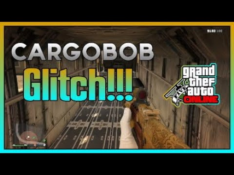 **NEW** GTA V ONLINE HOW TO OPEN THE BACK OF A CARGO BOB AFTER PATCH 1.41