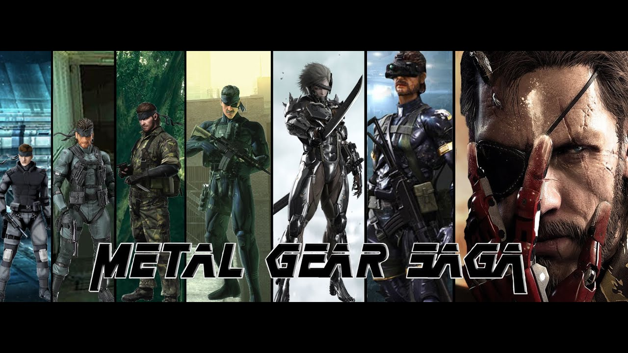 EVOLUCIÓN DE METAL GEAR 19872015 YouTube