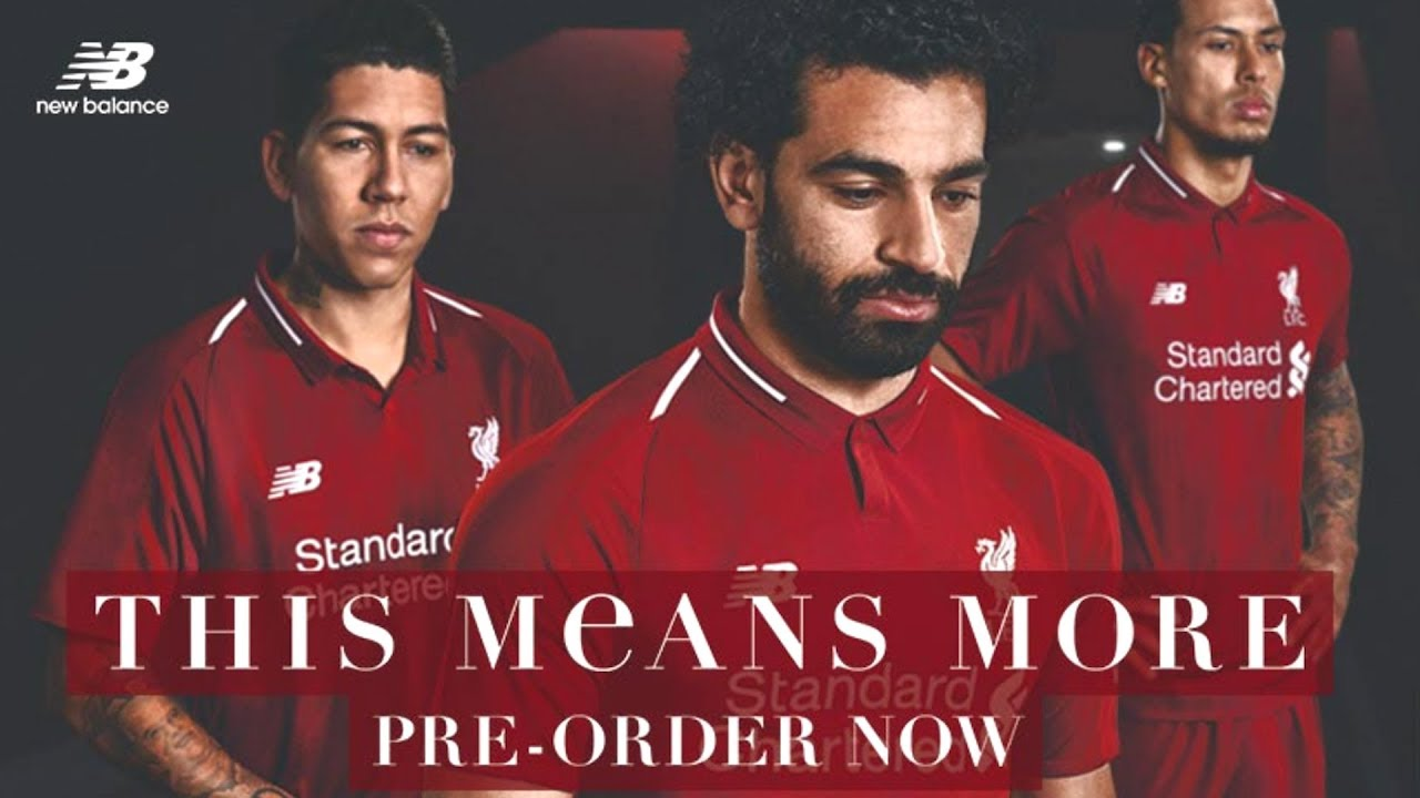 c74c1cf29ed FIRST LOOK | Introducing the new 2018/19 Liverpool FC home kit - YouTube