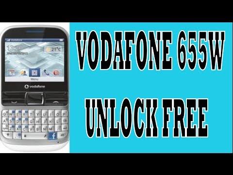 VODAFONE 655W  UNLOCK FREE
