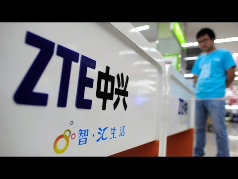 Chinese Company ZTE Close To Collapse After U.S. Sanctions