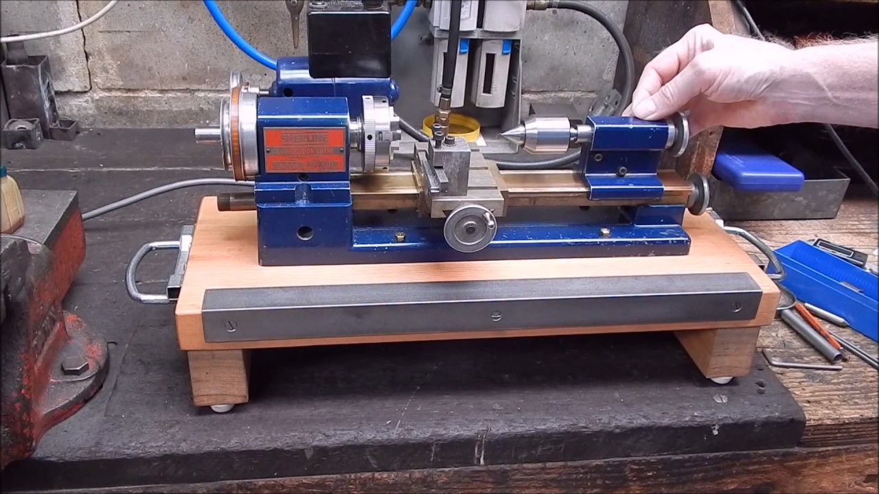Metal Lathe For Sale >> How to make an early Sherline metal lathe tailstock accurate - YouTube
