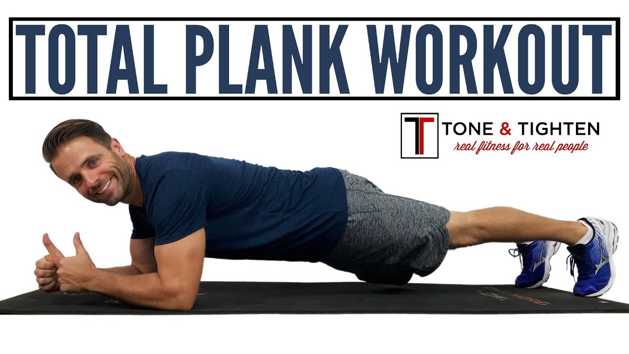 INTENSE Total Plank Workout   20 minutes for toned abs and a strong core