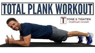The Best Total Plank Workout - 8 minutes of plank work for toned abs and a strong core.