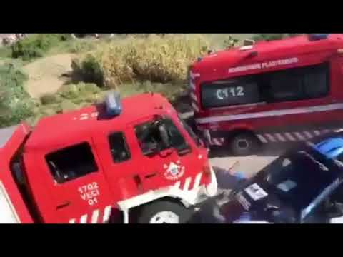 Sobrecogedor accidente en el Rallye do Alto Tamega, en Portugal