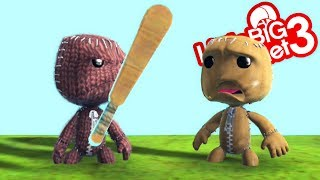 LittleBigPlanet 3 - Video Game Items in LBP Part 2 - Short Funny Animation