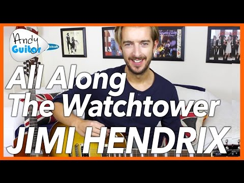 Jimi Hendrix  All Along the Watchtower Guitar Lesson Tutorial