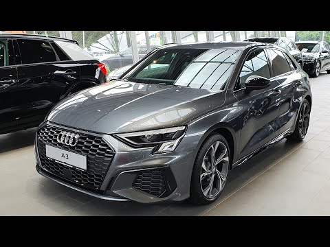 2020 Audi A3 Sportback Sline 35 TDI S tronic (150hp) - Visual Review!